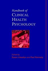 Handbook of Clinical Health Psychology