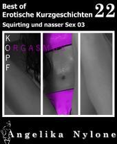Erotische Kurzgeschichten - Best of 49: Squirting und nasser Sex 04