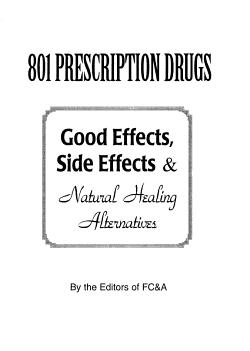 801 Prescription Drugs PDF