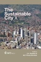The Sustainable City X PDF
