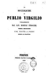 Le buccoliche di Publio Virgilio
