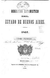 Registro estadístico de la Provincia de Buenos Aires: Volumen 4