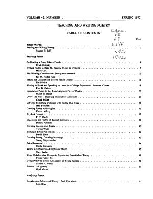 Virginia English Bulletin PDF