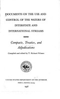 Documents on the Use and Control of the Waters of Interstate and International Streams PDF