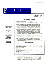 Frozen Food Industry and Locker Plant Journal