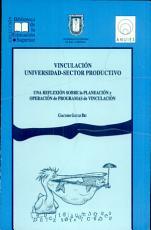 Vinculaci  n universidad sector productivo PDF