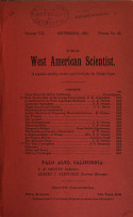 The West American Scientist PDF