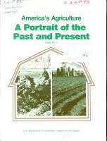 America s Agriculture PDF