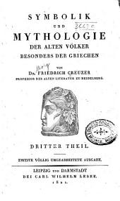 Symbolik und mythologie der alten völker, besonders der Griechen: Band 3