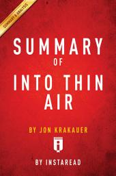 Into Thin Air: by Jon Krakauer | Summary & Analysis