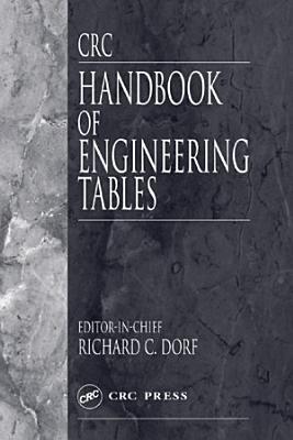 CRC Handbook of Engineering Tables PDF