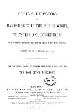 Post office  afterw   Kelly s directory of Hampshire  Dorsetshire  Wiltshire  the Isle of Wight  and the Channel Islands   PDF
