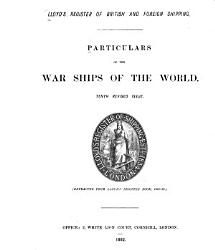 Particulars of the War Ships of the World PDF