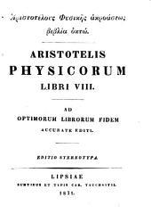 Aristotelis opera omnia: Τόμοι 1-4