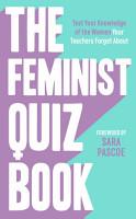 The Feminist Quiz Book PDF