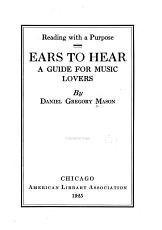 Ears to Hear PDF