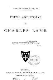 Poems and Essays