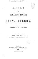 The Romantic Legend of S  kya Buddha PDF