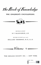 THE BOOK OF KNOWLEDGE THE CHILDREN'S ENCYCLOPEDIA