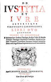 De iustitia et iure: Libri II.