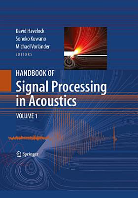 Handbook of Signal Processing in Acoustics PDF