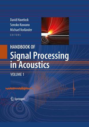 Handbook of Signal Processing in Acoustics PDF