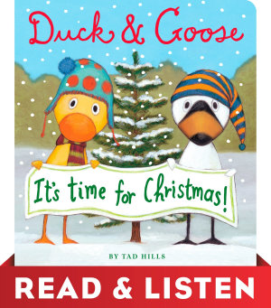 Duck   Goose  It s Time for Christmas  Read   Listen Edition