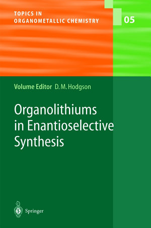 Organolithiums in Enantioselective Synthesis