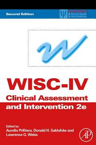 WISC IV Clinical Assessment and Intervention
