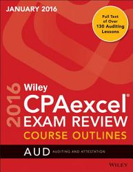 Wiley Cpaexcel Exam Review January 2016 Course Outlines Book PDF