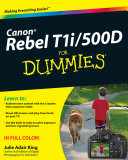 Canon EOS Rebel T1i   500D For Dummies PDF
