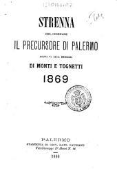 Strenna del giornale il precursore di Palermo dedicata alla memoria di Monti e Tognetti, 1869