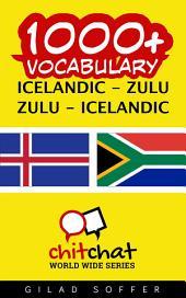 1000+ Icelandic - Zulu Zulu - Icelandic Vocabulary