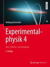 Experimentalphysik 4: Kern-, Teilchen- und Astrophysik, Ausgabe 4