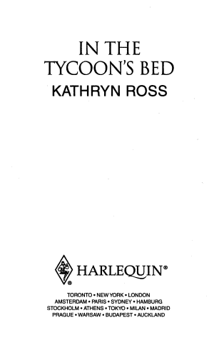 In the Tycoon's Bed