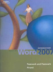 Microsoft Office Word 2007 Introductory Book PDF