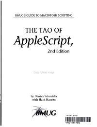 The Tao of AppleScript PDF