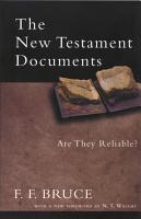 The New Testament Documents PDF