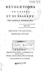 Révolutions de France et de Brabant: Volume2