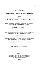 Compendious History and Genealogy of the Sovereigns of England PDF