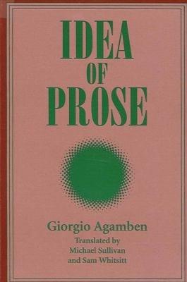 Idea of Prose PDF
