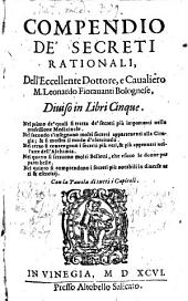 Del Compendio de i Secreti rationali