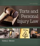 Torts and Personal Injury Law: Edition 5