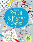 Pencil and Paper Games Pad