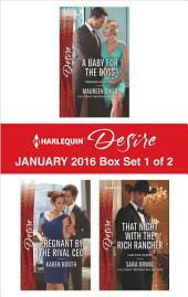 Harlequin Desire January 2016 - Box Set 1 of 2: An Anthology