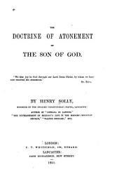 The Doctrine of Atonement by the Son of God ...