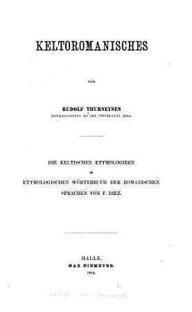 Keltoromanisches PDF