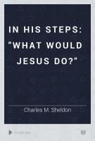 In His Steps PDF