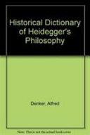 Historical Dictionary of Heidegger s Philosophy PDF
