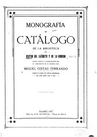 Monograf  a y cat  logo de la biblioteca del Centro del Ej  rcito y de la Armada escrita aqu  lla y ordenado   ste por Miguel Gistau Ferrando PDF